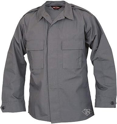Tru-Spec - Camisa táctica (tamaño mediano), color gris ...