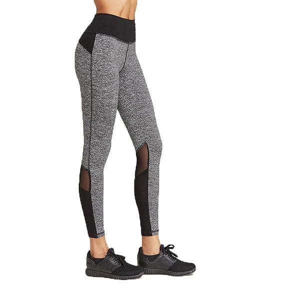 Leggings Mujer para Yoga, Pilates, Running CtopoGo Mujer Pantalones el/ásticos de yoga Mujer Pantalones deportivos el/ásticos y c/ómodos mujer Polainas