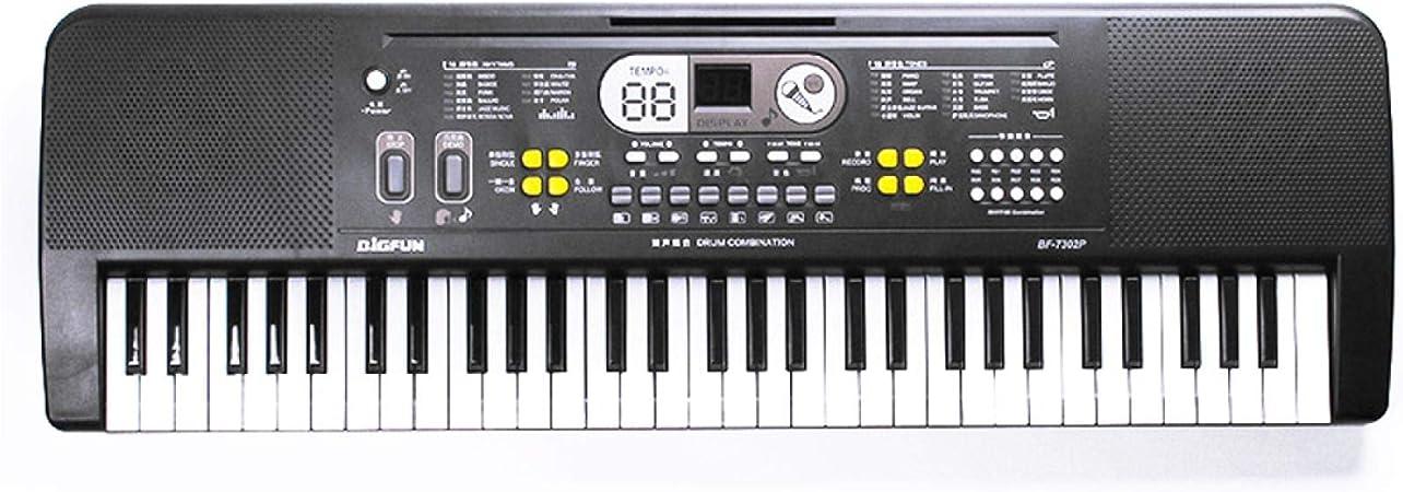 NIUPAN 61 Teclas Digital Music Teclado Electrónico ...