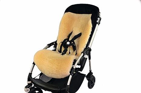 Natural 100% Piel de cordero bebé cochecito Bugaboo Bee 5 alfombrilla de maletero (piel