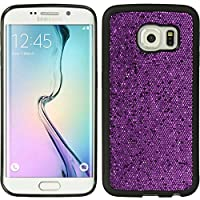 Dream Wireless Carrying Case for Samsung Galaxy S6 Edge - Retail Packaging - Glamor Purple
