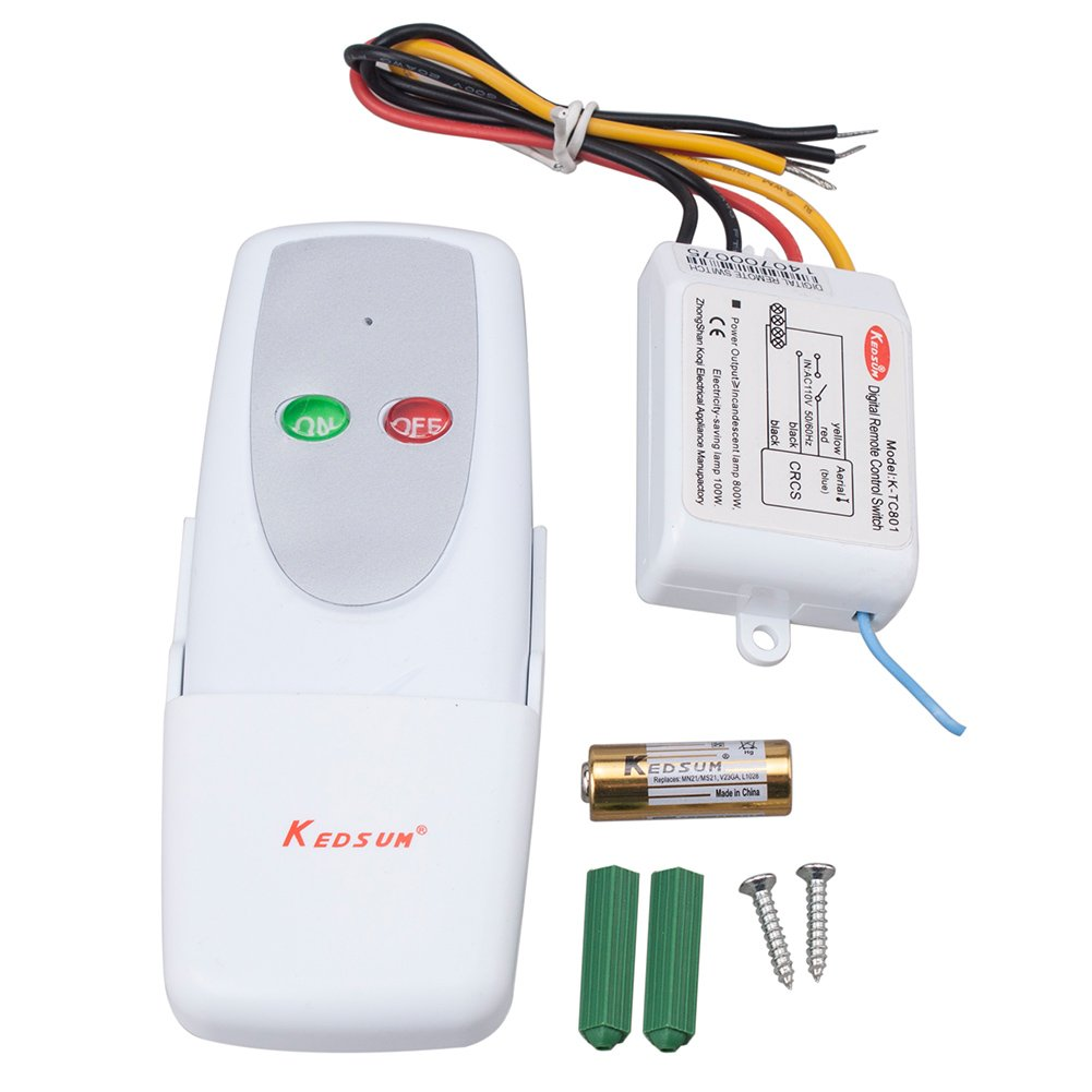 R C Switch 3 For Radio Control Applications Kedsum Wireless 1 Way On Off Digital Remote 110v All Lights Wall Light Switches