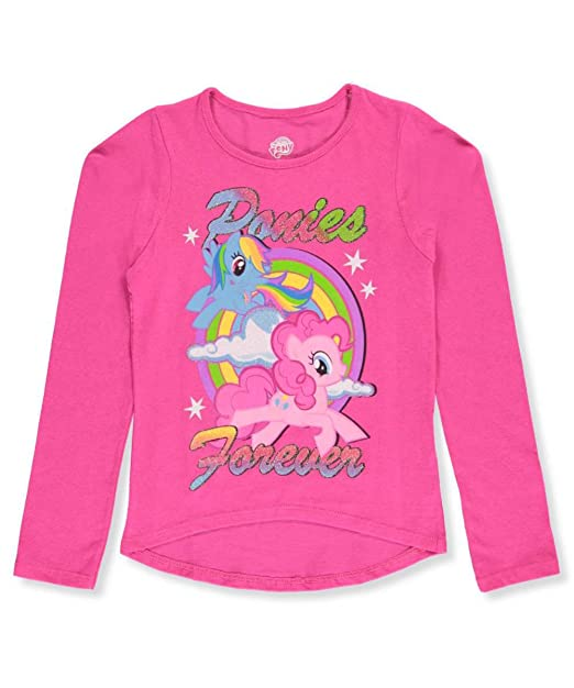 6b44cfc0ce9 My Little Pony Big Girls  L S T-Shirt - Fuchsia