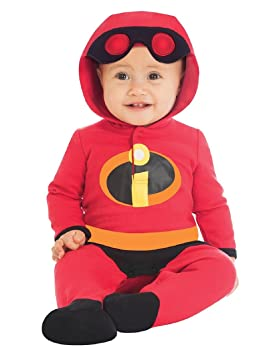 2bc28b158a848 Fancy Me bébé Disney Officiel Les INDESTRUCTIBLES Jack Jack Super Héros  Halloween déguisement Costume Tenue 0