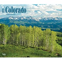 Colorado, Wild & Scenic 2016 Deluxe (Multilingual Edition) by Browntrout Publishers (2015-07-15)