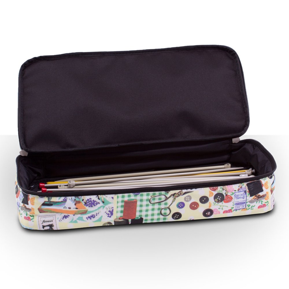 Sewing Accessories And Craft Needle Storage Organiser Case Bella Bag In Retro Knitting Bag
