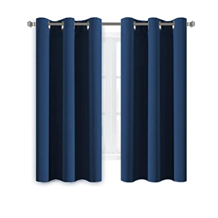 HVersailtex Eyelet Blackout Curtains Window Treatment Bedroom Solid Thermal Supersoft With Two