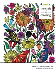 Adult Coloring Book: Flowers and Butterflies: Adult Coloring Books for Relaxation