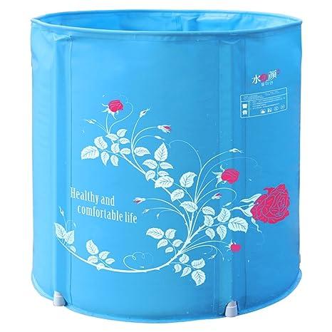 Vasca da bagno gonfiabile Vasca pieghevole per uso domestico Vasca ...