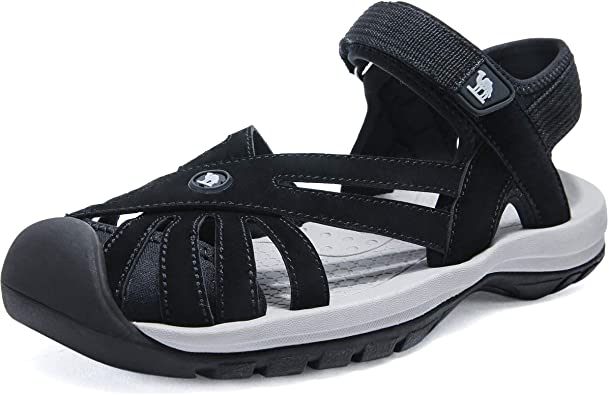 Amazon.com | CAMEL CROWN Women's Hiking Sandals Sport Water Athletic  Comfortable Walking Closed Toe Sandals for Outdoor Beach | Sport Sandals &  Slides