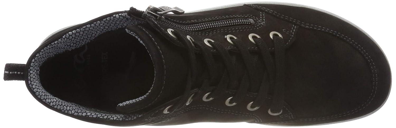ara Damen (Schwarz Tokio Hohe Sneaker, Schwarz (Schwarz Damen 14) 47b0db