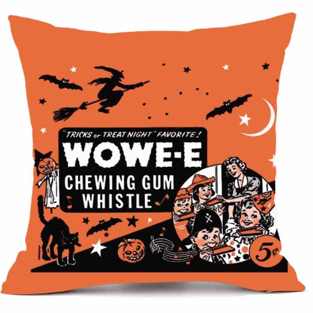 (46cm x 46cm, Halloween Poster) - Elogoog Halloween Pumpkin Throw Cushion Cases Super Cashmere Sofa Pillowcase Cover Home Decor 18 x 18 Inches_1pc (46cm x 46cm, Halloween Poster) 18 x 18 Inches Halloween Poster B075WX9X74