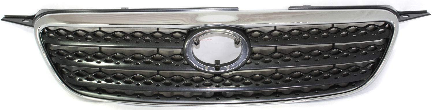 XRS Model 5310002100B0 TO1200280 For Toyota Corolla Grille Assembly 2005 2006 Painted Gray Shell and Insert