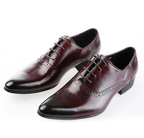 Zapatos de Vestir de Negocios Para Hombres Zapatos de Encaje ...
