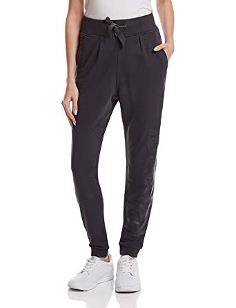 Reebok Pantalón Deportivo para, Color Antracita, tamaño Extra ...