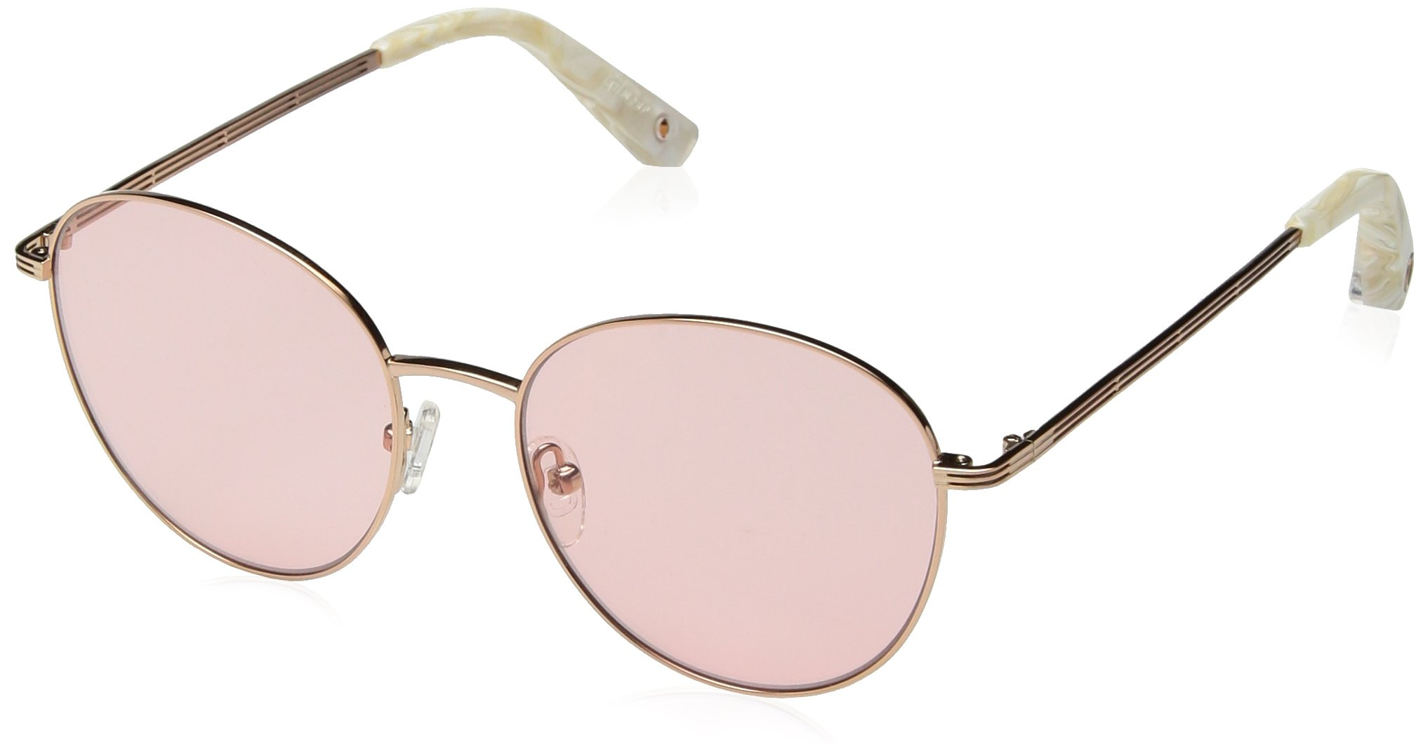 Elizabeth and James Women's Gilmour Round Sunglasses, Rose Gold, 53 mm