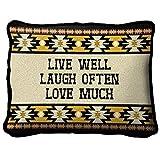 Black Forest Decor Live Southwest Pillow