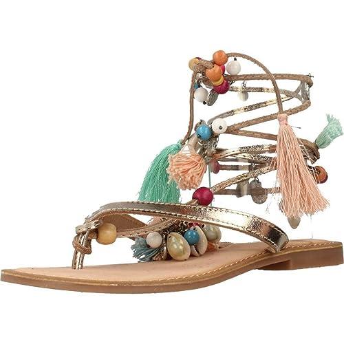 Sandalias y chanclas para mujer, color Plateado , marca GIOSEPPO, modelo Sandalias Y Chanclas Para Mujer GIOSEPPO 3438 R6 Plateado