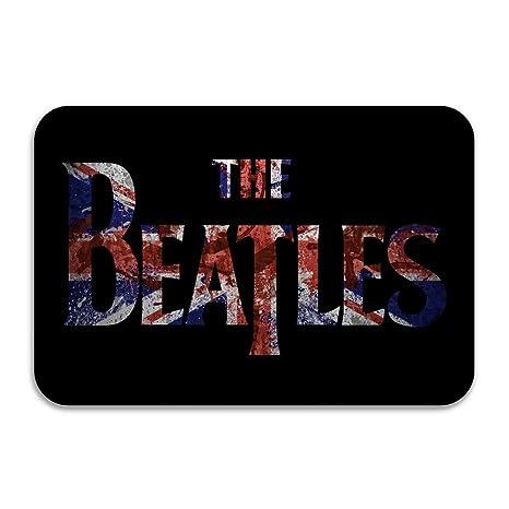 The Beatles Logo Bandiera Britannica Antiscivolo Zerbino 60 Cm Per