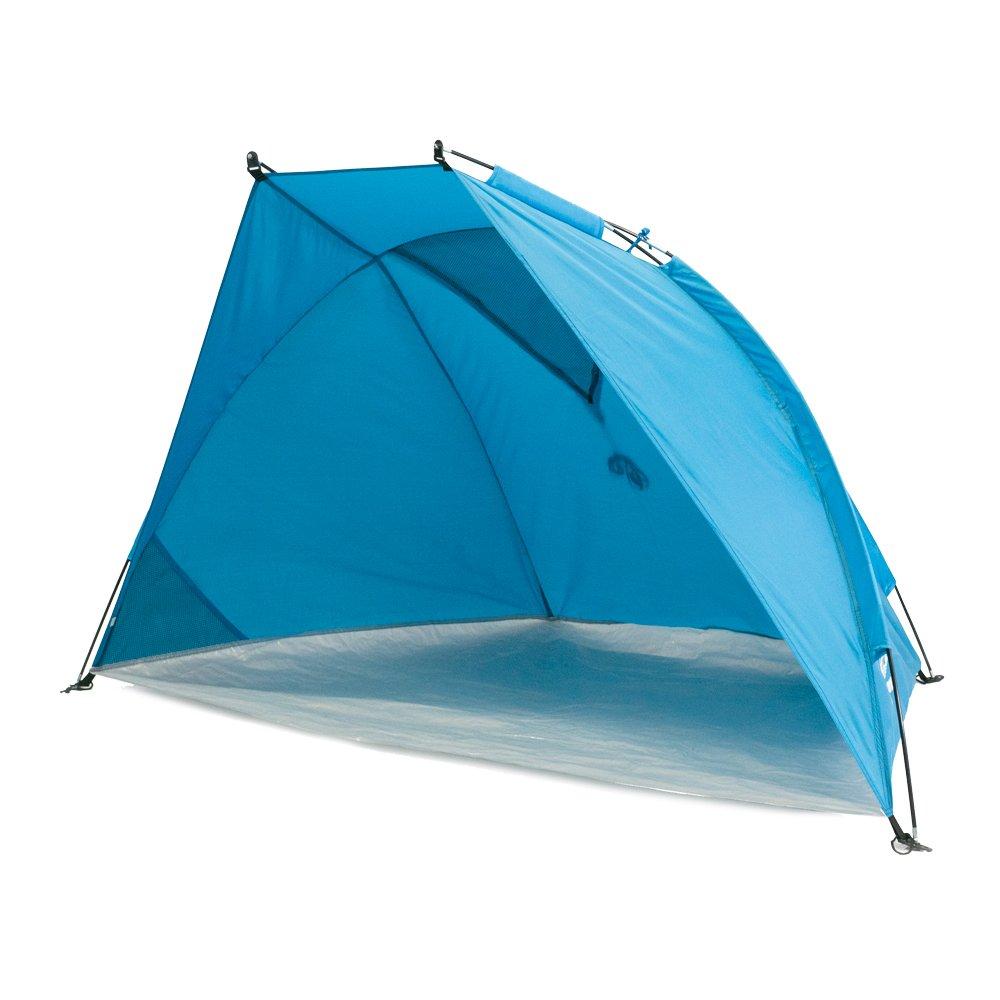 Outdoorer Helios Air Tente de Plage Anti-UV 80 Bleu Petit Format