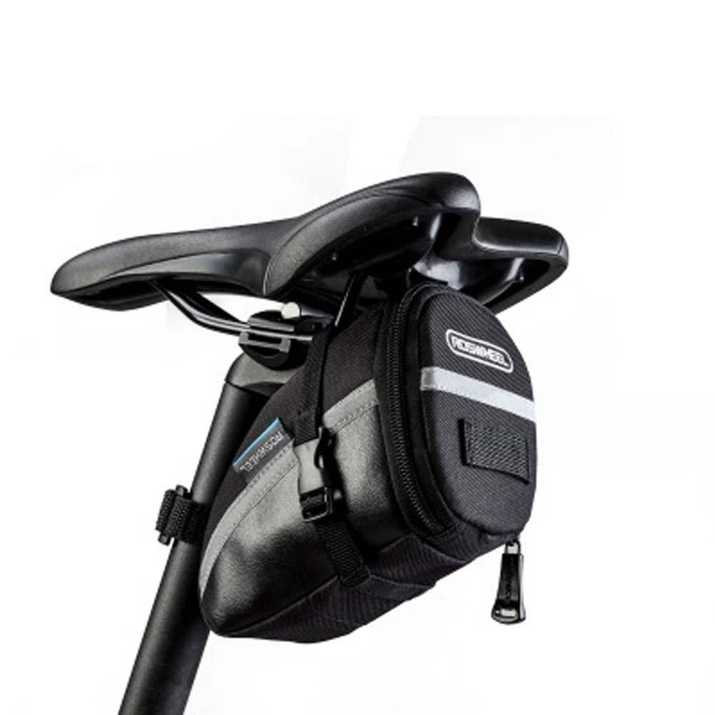 aodewバイクバッグシート下バッグバイクサドルアウトドアジッパー自転車シートバッグの折りたたみ式/ロード/マウンテンバイク   B07FGWR276