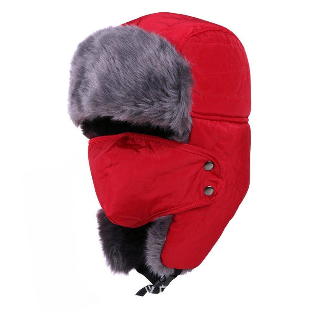Unisex Winter Trooper Trapper Hats Ushanka Russian Hat TaoRong
