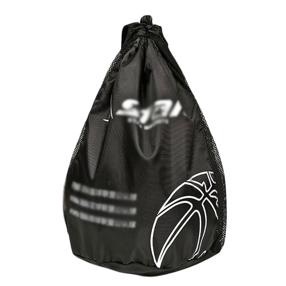 George Jimmy Basketball Volleyball Soccer Pocket Training Backpack Outdoor Sport Organizer Bag-Black