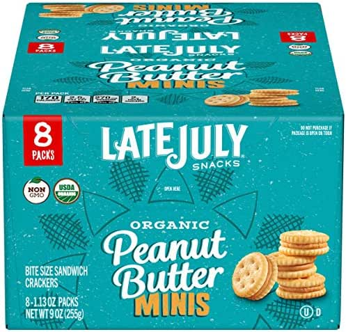 Crackers: Late July Mini Peanut Butter