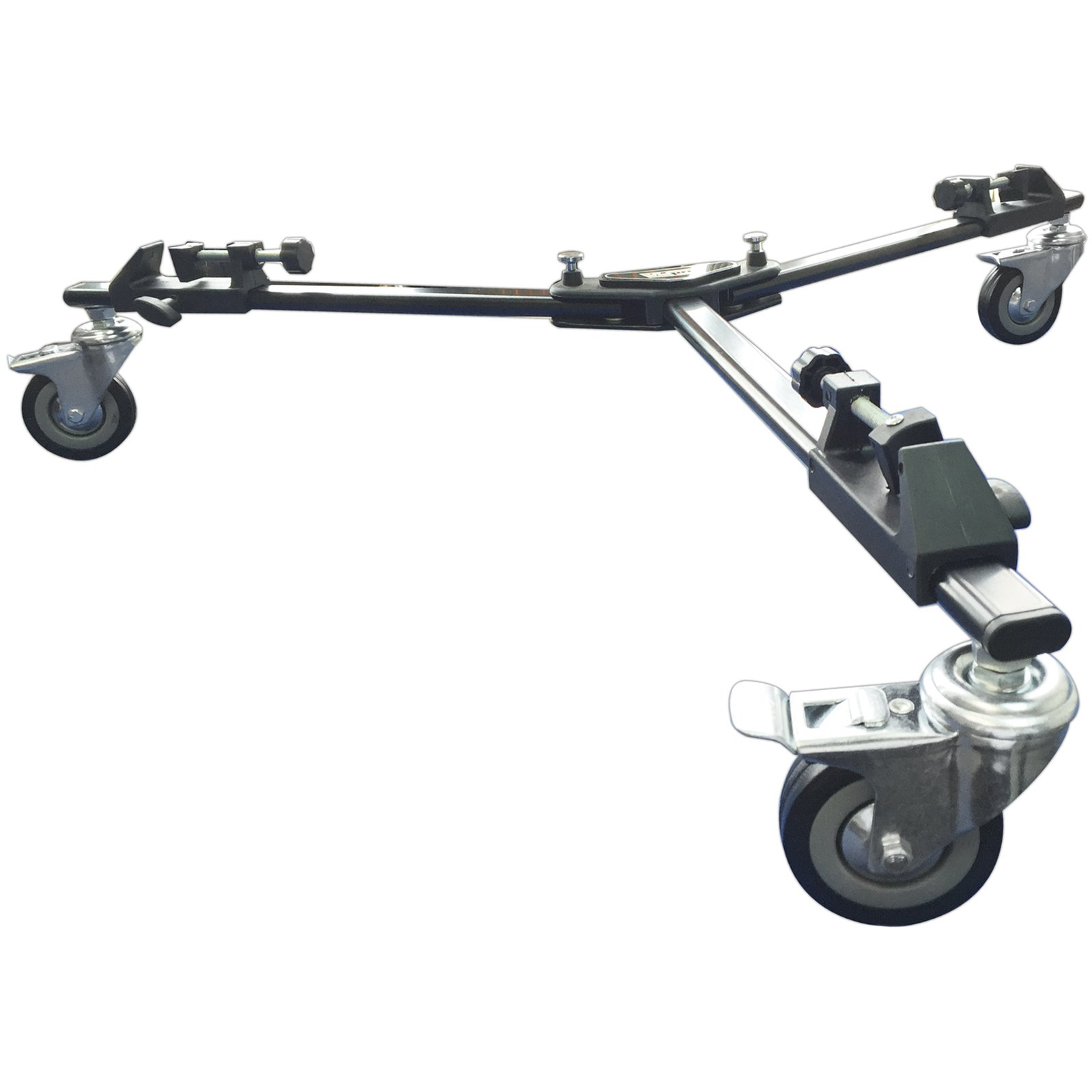 Vidpro PD-1 Professional Tripod Dolly Heavy-Duty with Locking Wheels and Carry Case