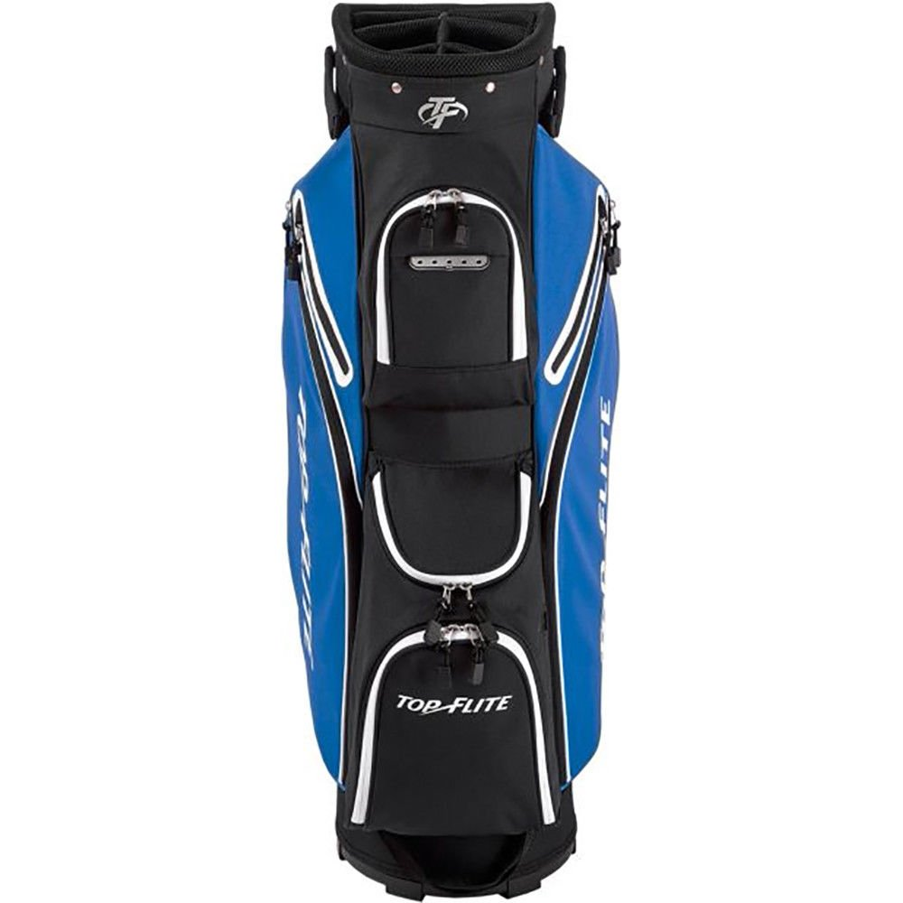 Top Flite 2018 Golf Cart Bag Mens Lightweight 8-Way Top - Black/Blue by Top Flight (Image #2)