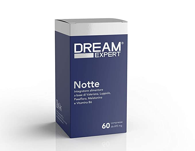 Dream Expert - 60 tabletas - Noche - pastillas para dormir ...
