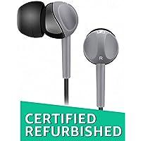 (Renewed) Sennheiser CX 180 Street II in-Ear Headphone (Grey)