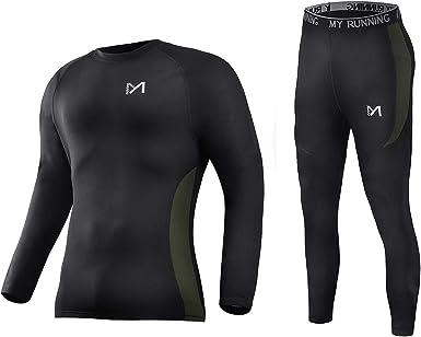 Men Women Compression Baselayer Thermal Long Johns Gym Sports Wear Underwear
