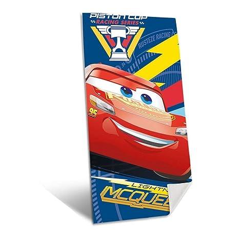 KIDS LICENSING Toalla Cars Disney Piston Cup algodon