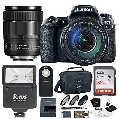 Review Canon EOS 77D w/