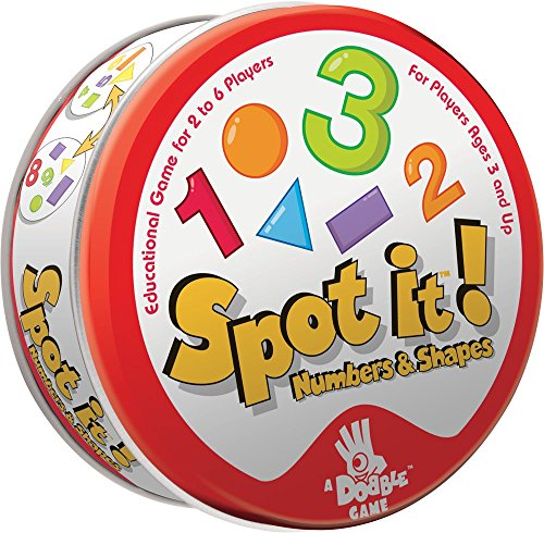 Asmodee Spot It! Numbers and Shapes