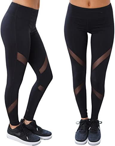 Women Fashion Lady Casual Sport High Waist Bodycon Slim Fit Yoga Pants Trousers