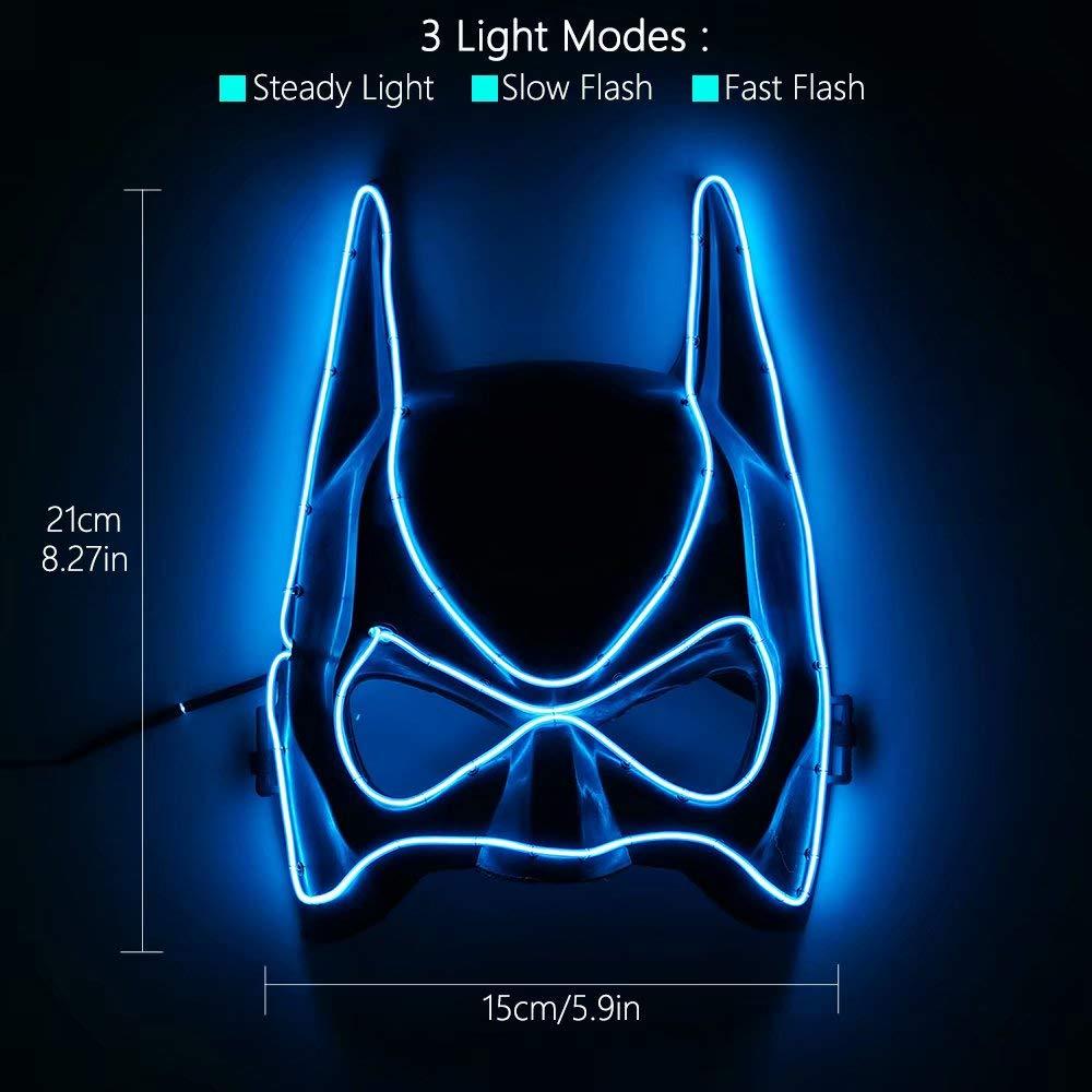 Amazon.com: U Look UGLY TODAY - Máscara con luz LED para ...