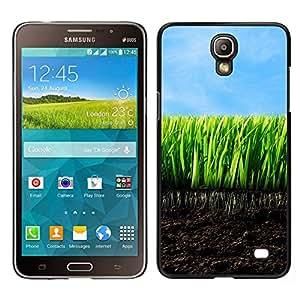 // PHONE CASE GIFT // Duro Estuche protector PC Cáscara Plástico Carcasa Funda Hard Protective Case for Samsung Galaxy Mega 2 / Young Grass /