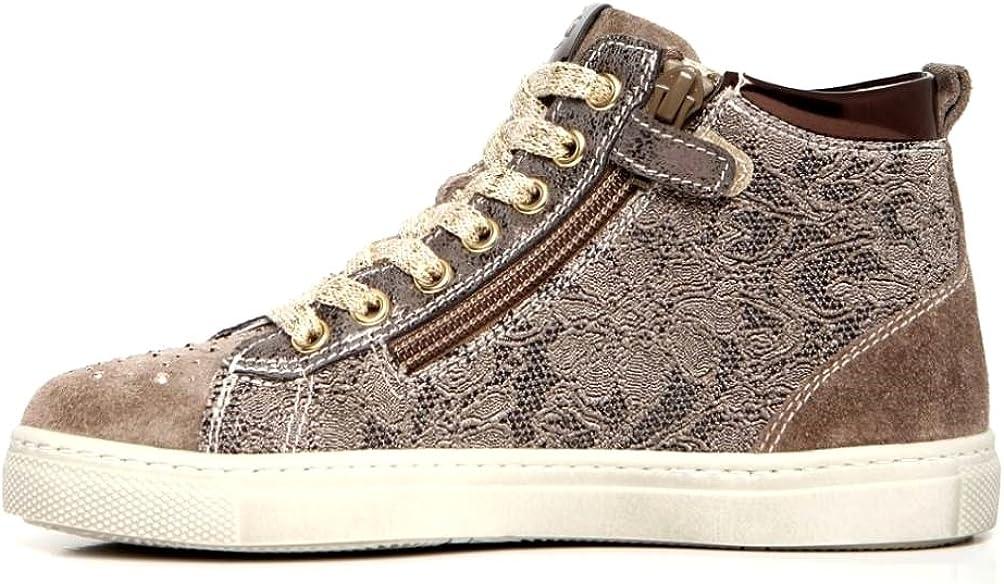 Nero Giardini Junior A732453F Tortora Sneakers Polacchine Scarpe Bambina Tortora