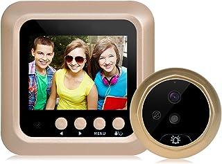 Spioncino digitale spioncino campanello, Hinmay digitale campanello smart Vision con fotocamera monitor indoor Viewer Night Vision disturb-free color display schermo 6,1cm 160gradi Wide Ang
