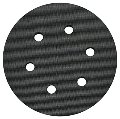 PORTER-CABLE 18001 6-Inch 6-Hole Hook and Loop Standard Pad for 7336 and 97366 Random Orbit Sander
