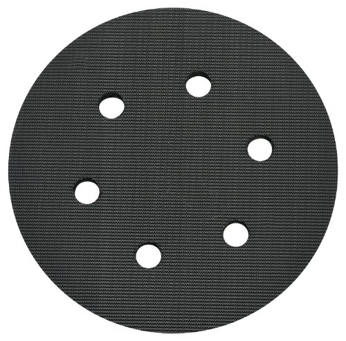 Porter Cable Sander Pad - PORTER-CABLE 18001 6-Inch 6-Hole Hook and Loop Standard Pad for 7336 and 97366 Random Orbit Sander