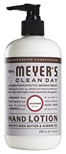 Mrs. Meyer's Clean Day Hand Lotion, 12 oz (Pack - 1, Lavender)