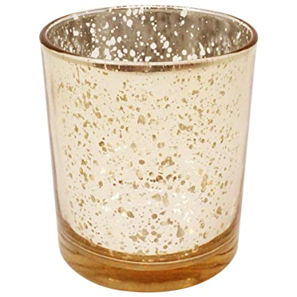 ee58bdc8d415 Image Unavailable. Image not available for. Color  Just Artifacts Mercury  Glass Votive Candle Holders ...