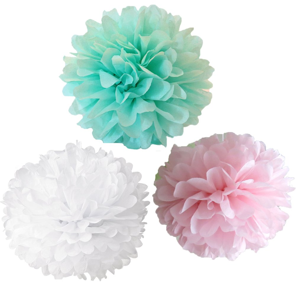Amazon Checkmineout 12pcs Mixed White Pink Mint Tissue Paper
