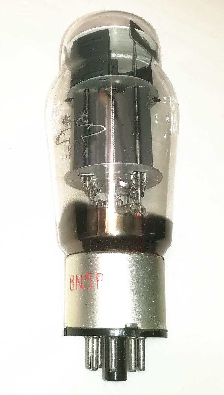 Shuguang 6N5P J Level Vacuum Tube VaIve Metal Case Instead of 6AS7 5998 A1834 6H13C 6N13P 6080 Made in 60s for HiFi Hi-end Amplifier Audio Senior Player Headphone Pro-amp Fever Acoustic DIY Lab 2pcs