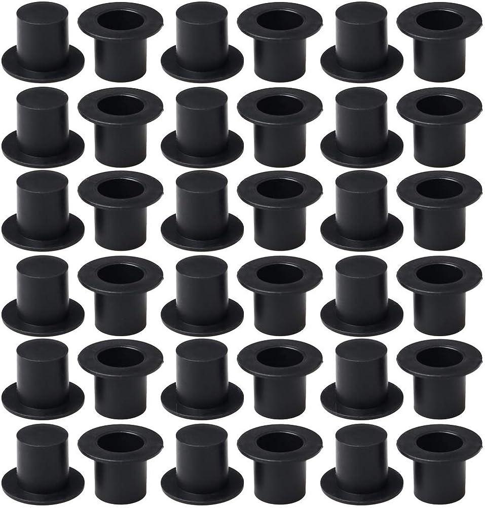 2 Tama/ños BBTO 60 Piezas Mini Sombreros Negros Sombreros de Pl/ástico Magician Top para Suministros de Fiesta de Decoraci/ón de Mu/ñeco de Nieve DIY