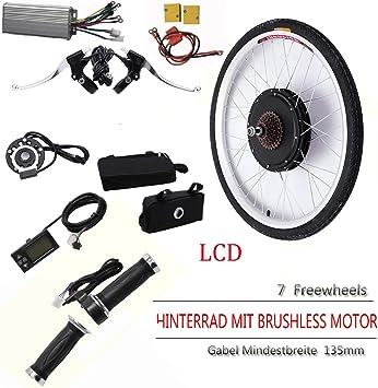 OUKANING - Kit de conversión para Bicicleta eléctrica de 26