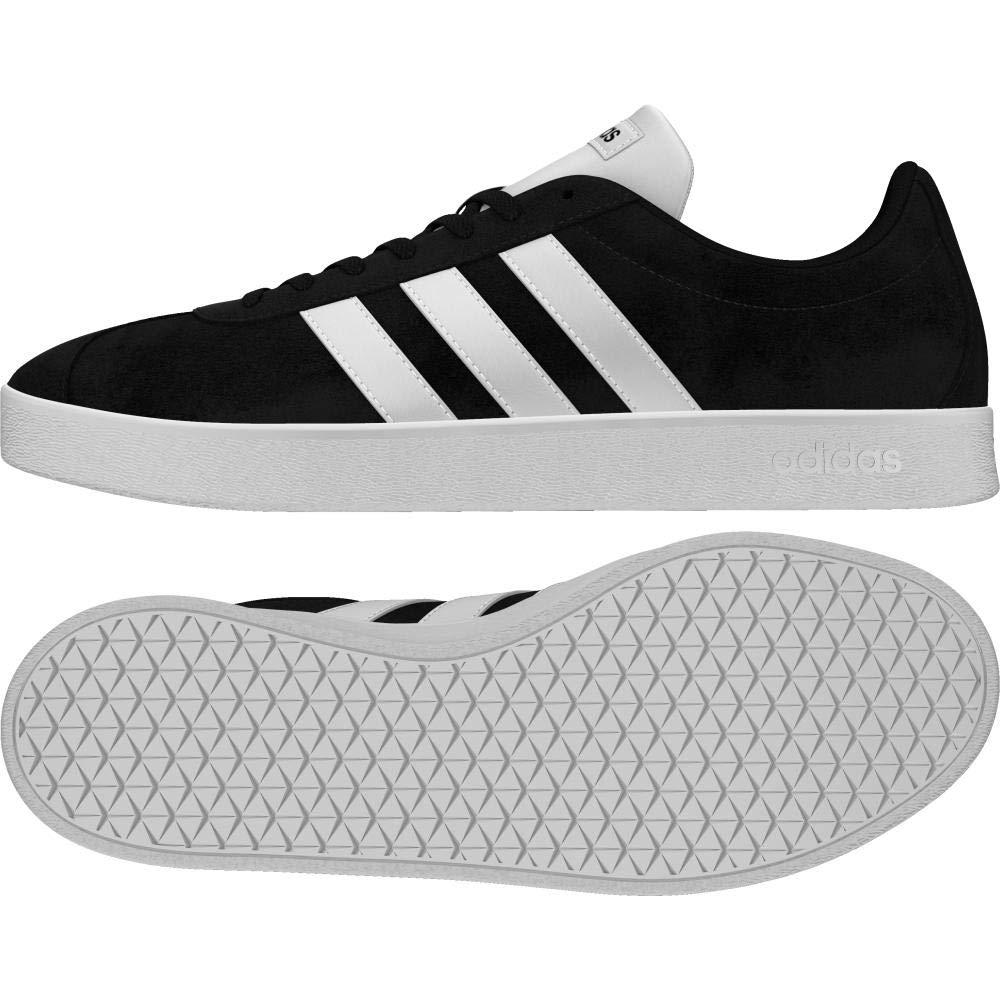 TALLA 38 2/3 EU. adidas VL Court 2.0, Zapatillas de Skateboard para Hombre